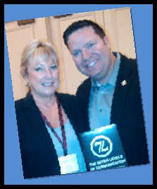 Coach Carol Mazur with 7L Author Michael J. Maher